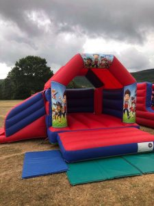 Paw Patrol Bouncy Castle Cardiff South Wales
