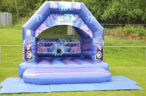 Disco bouncy castle for children Cardiff