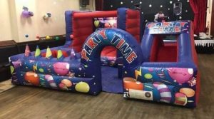 Party Time bouncy castle Cardiff